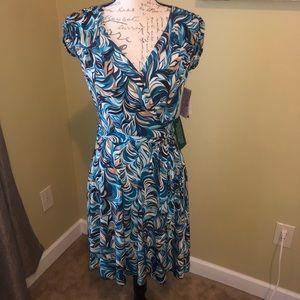 Xoxo wrap dress